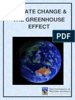 Climate Change and the Greenhouse Effect