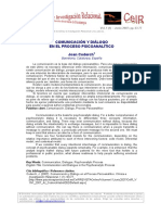 Coderch Comunicacion y Dialogo CeIR V1N1 2007