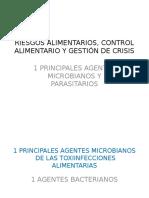 Principales Agentes Microbianos y Parasitarios