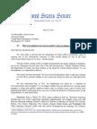 US Senators Demand Letter to AG Lynch