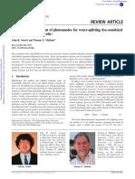 Design and Development of Photoanodes for Water-splitting Dye-sensitized