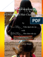A Tibetan Girl's Hair Changing Ritual