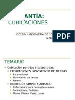 cubicaciones