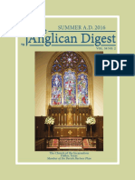 The Anglican Digest – Summer 2016