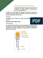 Características y Funcionamiento Del Diodo Led