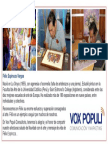 Felix Espinoza 1 Presentación