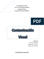 Ejemplo de Dossier contaminación visual
