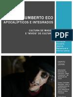 Estudos Críticos - Umberto Eco