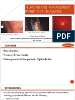 Pan Uveitis (Causes and Mgt of Sympathetic Ophthalmitis)
