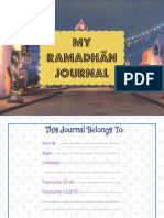 Ramadhān Journal Boys