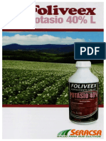 Brochure Potasio
