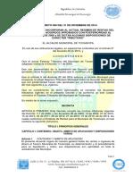 Decreto 090 de 2014 o Estatuto de Rentas Tocancipa