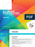 ICC Cricket World Cup 2015 Fan Guide