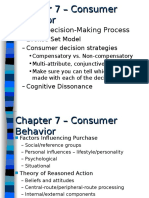 Mkt 300 consumer behavior