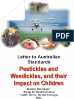 Schoolyard Weedicides Are Toxic to Your Children!!