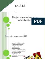 DECRETO SUPREMO DE ACCIDENTE ESCOLAR