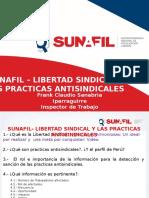 EXPOSICION SOBRE LIBERTAD SINDICAL Y PRACTICAS ANTISINDICALES