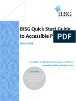 Quick Start Guide to Accessible Publishing