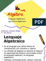Algebra Septimo Básico Para Clase