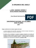 Presentación2 Materia Orgánica FEBRERO 14