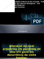 Alteração de nível pressórico em pacientes de uma UTI geral em decorrência da visita familiar. Fisiologia (1)