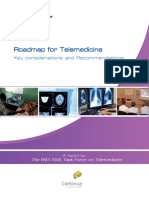 Roadmap for Telemedicine