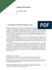 Sediment Transport Processes