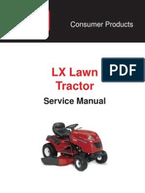 TORO LX460 SERVICE MANUAL | Nut (Hardware) | Screw