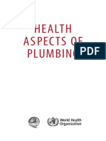 Health Aspects of Plumbing