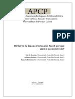 Ministros da área econômica no Brasil