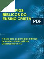 Princípios Bíblicos do Ensino Cristão