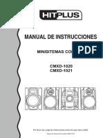 Manual Microsistema Con Dvd Hitplus