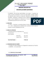MEMORIA DESCRIPTIVA FACTIBILIDAD LAS MORAS.doc
