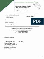 Appellant's Opening Brief Lyman case