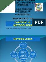 Cap. III, Metodología