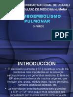 Tromboembolismo Pulmonar - g Force Xd