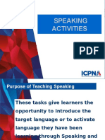 Teaching Speaking - NOV 2015-GE