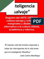 Inteligencia Salvaje Movida Barranquina