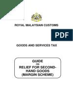 Guide on Margin Scheme 2015