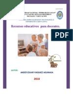 catálogo de recursos educativos