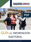 Guia Informacion Electoral EG 2016