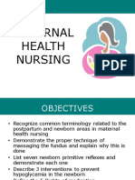 Maternity Nursing Overview 1 of 2