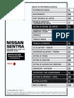 Indice de Referencia Rápida nissan sentra b15