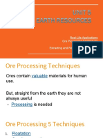 ore and hydrocarbon processing