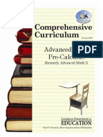 Advance Math PreCalculus