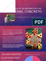 Enseñanza de las Matemáticas con material concreto.ppsx