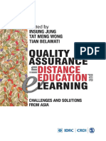 QualityAssuranceinDistanceEducation IDL 50719