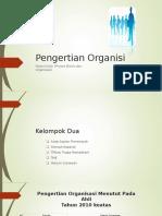 Kelompok 2 Definisi Organisasi - STMIK LIKMI.ppt