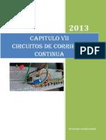 Chapter Vii. Fisica III. Circuitos de Corriente Continua-1