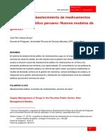 Abastecimiento Medicinas Peru